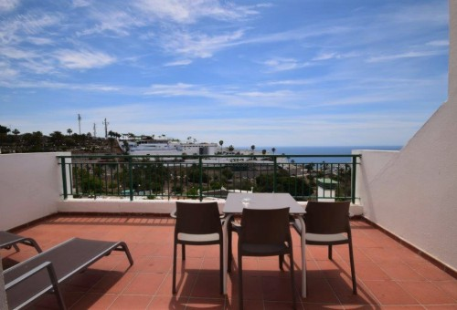 144 For sale 1 bedroom apartment with sunny terrace in Puerto Rico